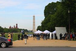 Captain America- The Winter Soldier filming on the Mall.jpg