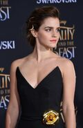 Emma Watson Beauty and the Beast Hollywood premiere