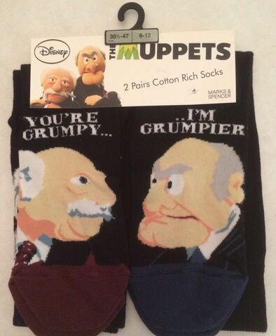 File:Statler&Waldorf Socks - UK - Mark & Spencer-01.jpg