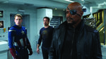 Nick Fury, Cap, and Tony in Lab-The Avengers