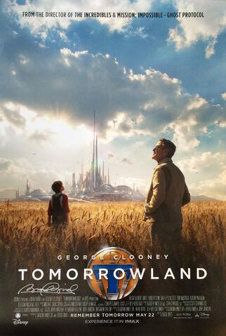 File:Tomorrowland Poster (Brad Bird Signed).jpg
