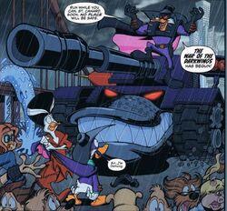 Darkwarrior Duck comic01