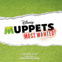 Muppets Most Wanted score album