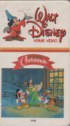 A Walt Disney Christmas VHS