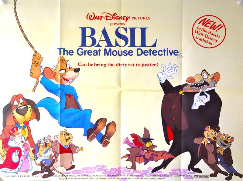 Image - Basil-the-great-mouse-detective-original-uk-quad ...