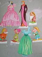 Snow White Paper Dolls 1972