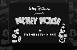 Disney's Blast Five Gifts for Minnie