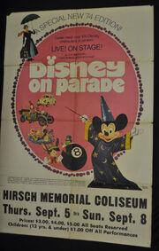 DisneyOnParade74poster