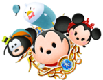 Kingdom Hearts Magic Medal Tsum Tsum
