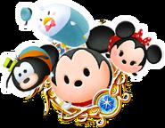 Kingdom Hearts Magic Medal Tsum Tsum