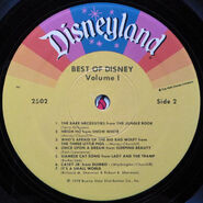 Best of Disney Volume 1 Side 2