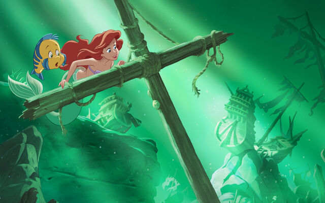 File:Disney Princess Ariel's Story Illustraition 1.jpg