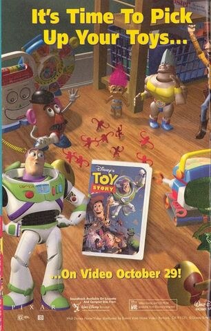 File:Disney and Pixar's Toy Story - 1996 Promotional VHS Print Advertisement.jpg