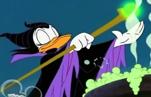 File:Daisy Duck as Maleficent.jpg