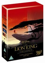 The Lion King Box Set 1-3 2004 UK DVD