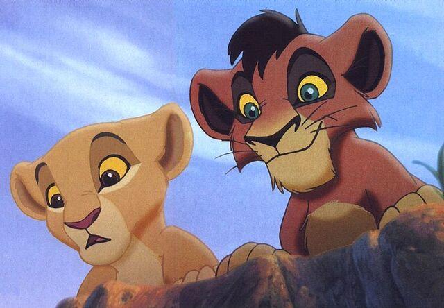 File:Kovu and Kiara as cubs.jpg