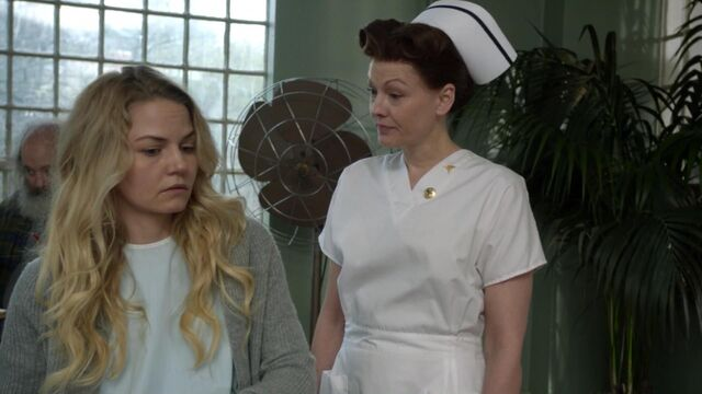 File:Once Upon a Time - 6x21 - The Final Battle Part 1 - Emma and Nurse Ratched.jpg