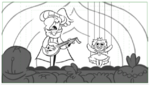 Face the Music Storyboard 1