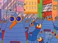 Alien robot birds