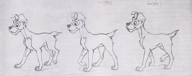 File:Lady and the tramp disney production art 04.jpg