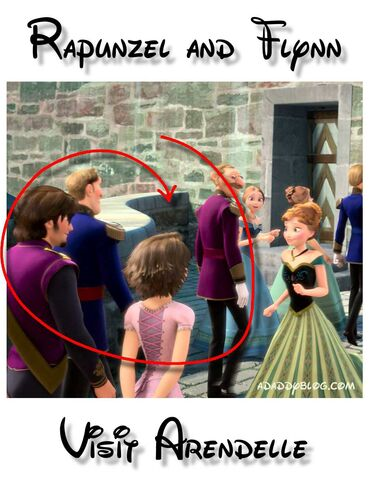 File:Rapunzel-and-Flynn-with-Princess-Anna-in-Arendelle-in-Disney-movie-Frozen.jpeg