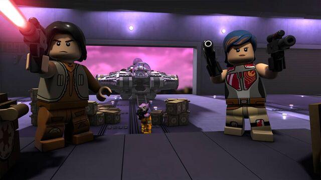 File:Lego Star Wars Droid Tales Ezra And Sabine.jpg