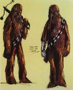 Chewbacca TFA Concept Art