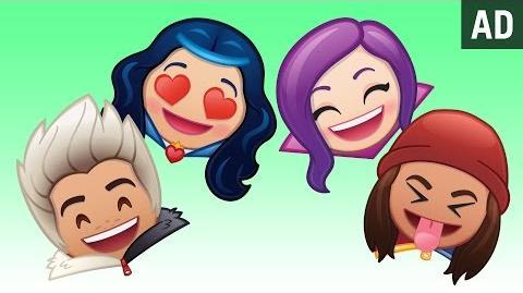 Disney Channel's Descendants As Told By Emoji Disney