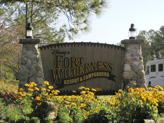 File:Disney's Fort Wilderness Resort and Campground sign.jpg