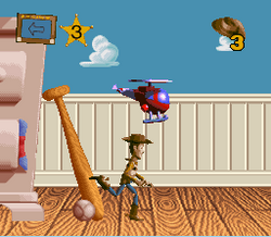 Toy Story SNES Gameplay