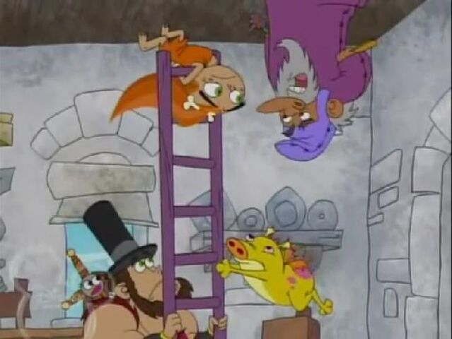 File:Dave The Barbarian - Not a Monkey! - Lincoln Hat.jpg