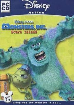 Monsters, Inc. Scare Island Cover