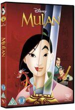 Mulan 2012 UK DVD