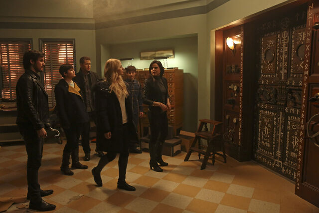 File:Once Upon a Time - 5x17 - Her Handsome Hero - Publicity Images - Heroes in Library.jpg