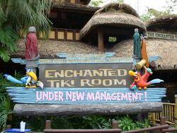 The Enchanted Tiki Room (Under New Management) at Magic Kingdom