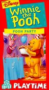 PoohPlaytimeVHS PoohParty