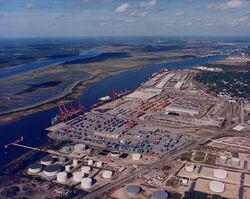 Port of Wilmington Aerial 3B19