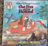The Fox and the Hound Disney Read Along 1st Cassette