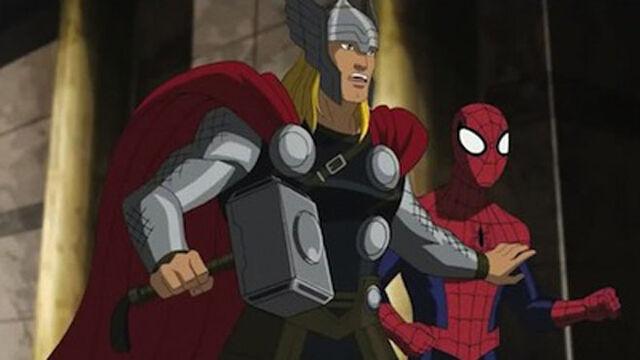 File:Thor in Ultimate Spider-man.jpg