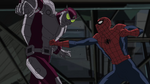 Beetle attacking Spider-Man USM 2