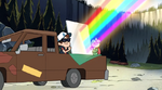 Dipper and candy rainbow