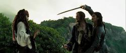 Isla Cruces duel 11