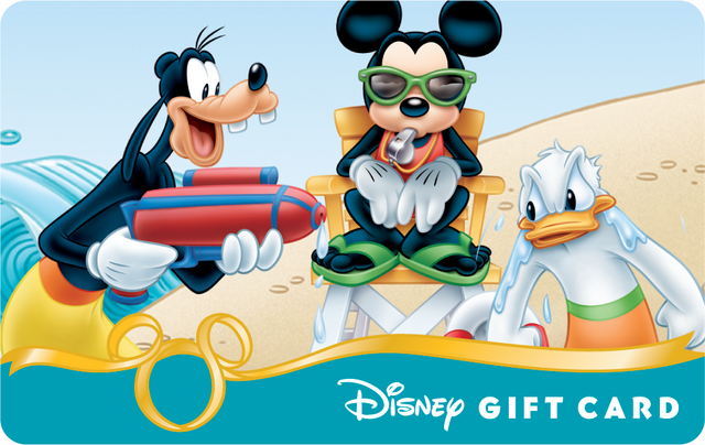 File:Mickey Goofy Donald 2014 Summer Disney Gift Card.png