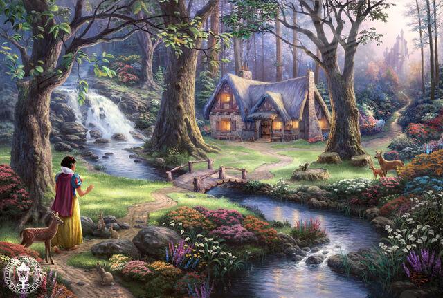 File:Thomas-Kinkade-Disney-Dreams-disney-princess-31536073-1500-1009.jpg
