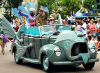 Disney Stars and Motorcars Parade atlantis