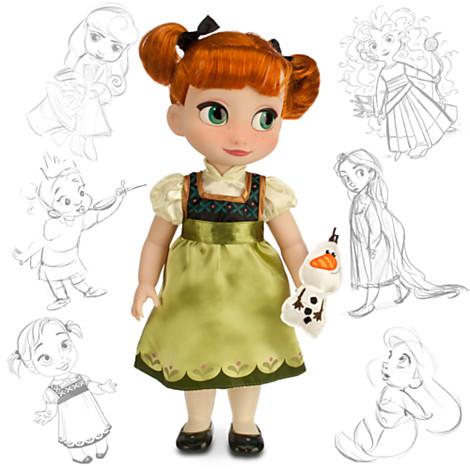 File:Frozen Anna 2014 Disney Animators Doll.jpg