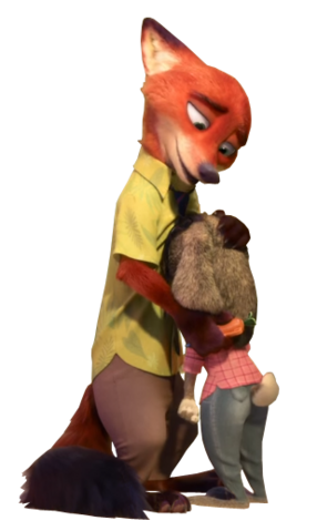 File:Nick and judy vector by simmeh-d9mb0lb.png