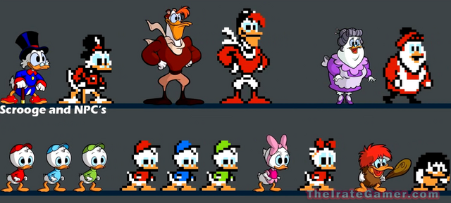 File:Ducktales-Remastered-NPC-character-roster-Wubba-duck-1024x463.png