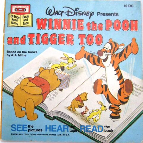 File:Winnie the Pooh and Tigger Too Disney Read Along 1st Cassette.jpg
