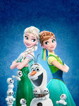 Frozen Fever Textless Poster